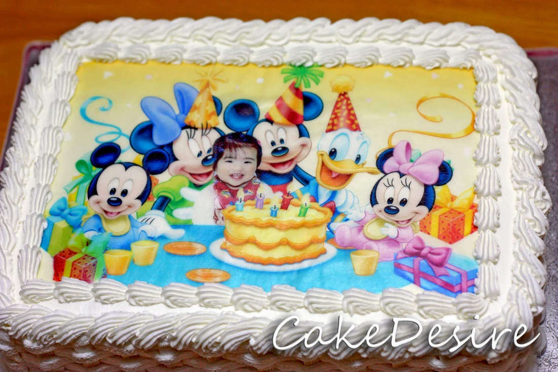 Cake Designs On Rice Paper : Rice Paper - Cake Desire - English